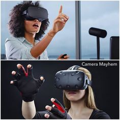 An awesome Virtual Reality pic! What would rather have Oculus Rift or HTC Vive?  The battle of the VR's begins....#cameramayhem #oculusrift #HTCVive #vr #virtualreality #oculus #vive #360 #vrheadset #vrexperience by cameramayhem check us out: http://bit.ly/1KyLetq