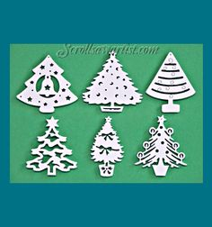 Free Scroll Saw Christmas Tree Ornament Patterns