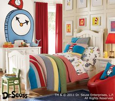 love this Dr. suess room.