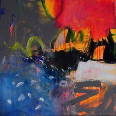 these days 1 Anna Hryniewicz acrylic 60x60