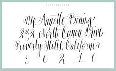 Copperplate Calligraphy Alphabet I7gif Picture