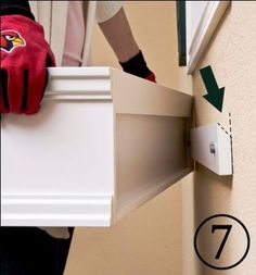 """How to install a window box using a """"cleat system"""". This would allow you to remove the box when necessary (i.e. to replant or when hurricanes threaten)."""