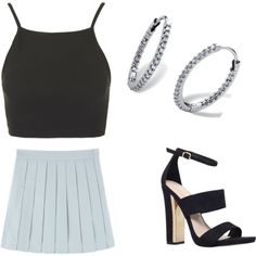 Untitled #225 by sophia-solzbacher on Polyvore featuring polyvore fashion style Topshop Carvela Palm Beach Jewelry