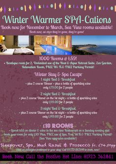 Page 11 Winter Warmer Offers January February March Christmas Twixmas New Year Breaks Funky Festivities Ambassador Spa Hotel Scarboro.