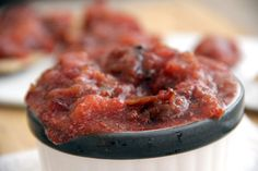 Who knew plum jam could be so quick and easy to make, without the addition of sugar or other thickeners. Diabetic Recipes, Healthy Recipes, Plum Jam Recipes, Recipes With Few Ingredients, Healthy Eating, Homemade, Cooking, Sugar Free, Ethnic Recipes