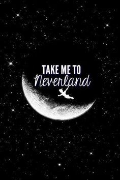 me leve para a terra do nunca #toneverland