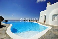 Private pool at Villa Orsalia, Mykonos