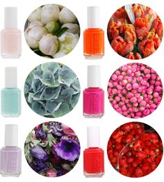 Beautiful spring colors by Essie