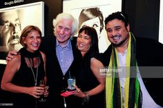 Daniella Zareski, Douglas Kirkland, Keiko Noah and Idan Zareski attend the PHOTO France LA Issue Release Party At Mouche Gallery In Beverly Hills on April 29, 2015 in Beverly Hills, California.