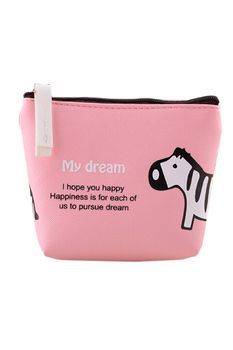 Jetting Buy Purse Clutch Wallet Small Bag PU Card Holder Pink (EXPORT)