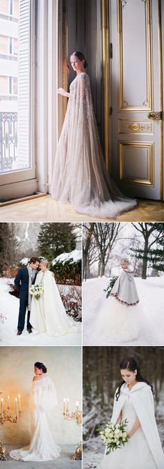 32 Fashion-Forward Jackets To Keep You Warm And Cool At Your Wedding! Capes