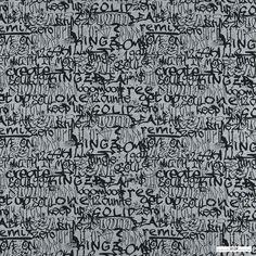 Sweatshirtstoff Grau Meliert Angeraut | Stoff & Stil
