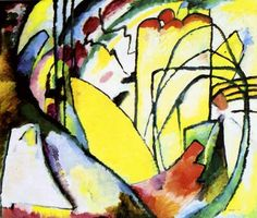 Kandinsky - Improvisation 10, 1910