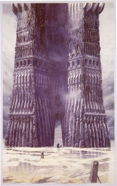 The Lord of the Rings - Alan Lee Art - Orthanc