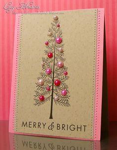 Ihana tyttömäinen joulukortti :)