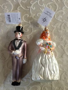 Christopher Radko Ornament Wedding to Have and to Hold | eBay