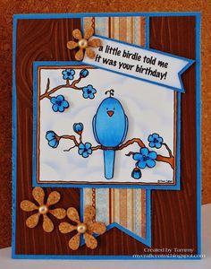 My Craft Central: A little birdie...