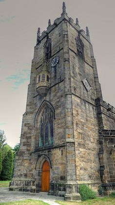 St John Baptist Church, Royston Barnsley, Yorkshire. #churches