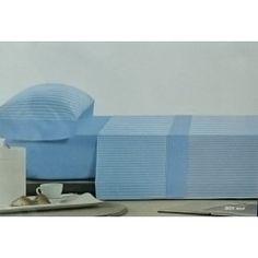 Polo Polo juego de sabanas de franela para camas de 160 mod. BEK azul