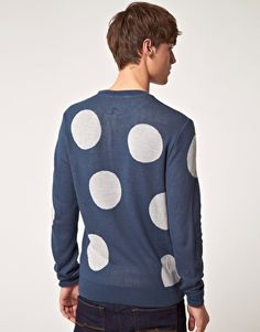 ASOS Jumper with Large Polka Dots