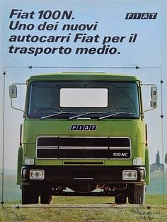 FIAT 100 N Trucks, Fiat, Volkswagen, Transportation, Automobile, Vehicles, Vintage, Rolling Stock, Car