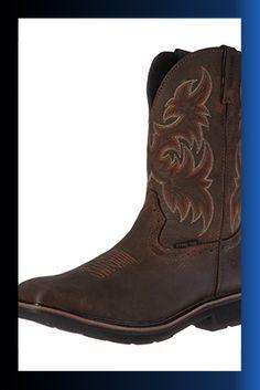 681e0b18651 Wolverine Men s Rancher 10″ Square Steel Toe Work Boot