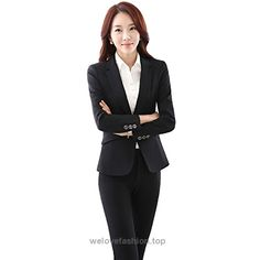 URUOI Women's Two Piece Office Lady Blazer Business Professional Suit Set Black S  BUY NOW     $49.90    Feature:  Slim fit /Regular fit Women's Business Suit Set.   Machine Washable or Hand Washable.   Easy to match and suitable for any style of clothes inside   Suit se ..