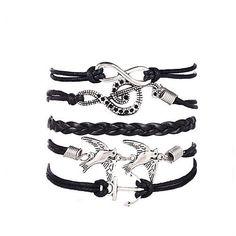 Women's Charm Bracelet Wrap Bracelet Leather Bracelet Multi Layer European Vintage Personalized Inspirational Fashion Costume Jewelry 2017 - $36.83