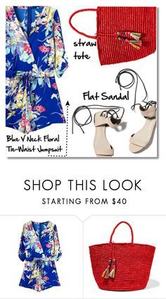 """26.06.16 Floral Jumpsuit"" by shirleipatricia ❤ liked on Polyvore featuring Sensi Studio and 3.1 Phillip Lim"