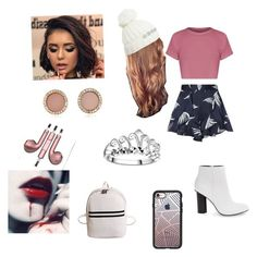 """""""Lydia Martin inspired"""" by damonsalvatoreismydaddy on Polyvore featuring C/MEO COLLECTIVE, Miss Selfridge, GUESS, Steve Madden, Casetify, Michael Kors and PhunkeeTree"""