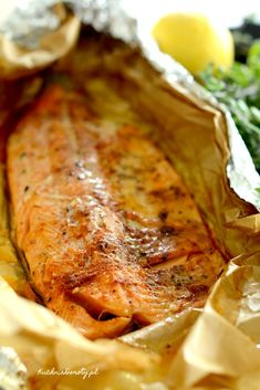 Grilled Fish, Polish Recipes, Fish And Seafood, Bon Appetit, Good Food, Food And Drink, Tasty, Healthy Recipes, Meals