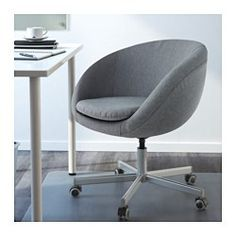 SKRUVSTA Swivel chair, Vissle grey - - - IKEA
