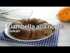 Ciambella alla ricotta Dukan, un dolce che, chi segue la dieta Dukan dei 7 giorni, può mangiare dal martedì in poi. Questa ciambella è ottima a colazione...