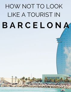 The dos and don'ts for traveling in Barcelona, Spain. How not to look like a tourist? Barcelona Spain Travel, Visit Barcelona, Barcelona 2016, Barcelona Catalonia, Places To Travel, Travel Destinations, Places To Visit, Madrid, Voyager Loin