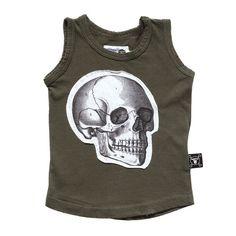 Nununu Skull Patch Deconstructed Tank in Black – Roman & Leo Skull Tank Tops, Plain Tees, Funny Sweatshirts, Kids Fashion Boy, Sweatshirt Outfit, Deconstruction, Cool Shirts, Black Tops, Tank Man