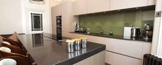 Olive Green splashback