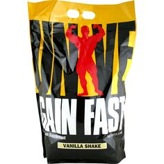 Universal Gain Fast 3100 Vanilla Shake 10 lbs | Regular Price: $82.50, Sale Price: $47.99 | OvernightSupplements.com | #onSale #supplements #specials #Universal #WeightGainer  | If you turn back the bodybuilding clock you ll no doubt remember that old stand by the weight gainer You probably picked up an economy sized bottle when you were playing high school football before you became a competitive bodybuilder Along with the Animal Pak a quality weight gainer was probably one