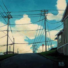 DPW  Original Fine Art Auction - Second Street - © Nora Bergman