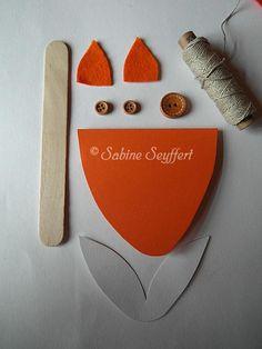 diy invitation fox party by blog sabine seyffert einladung kindergeburtstag. Black Bedroom Furniture Sets. Home Design Ideas