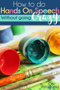 Ideas for creating a dedicated space in the classroom that can be messy when students are doing crafts.