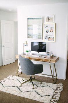 Home office design decor ideas for 2018 including, office decor office design of. Home office desi Small Space Office, Home Office Space, Home Office Desks, Desk Space, Space Kids, Small Workspace, Apartment Office, Office Workspace, Office Spaces