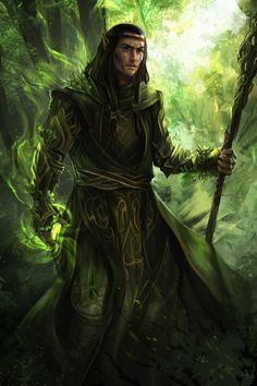 druid-green - commission by h1fey on DeviantArt
