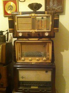 Trois radio rarae