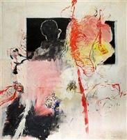 Moshe Givati (Israeli, b. 1934) Title: Virgin and Child , 1968 Medium: oil on canvas Size: 160 x 145 cm. (63 x 57.1 in.)