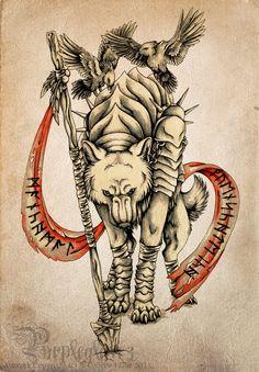 Tattoo Commission - AvaloN-at by ColletteJEllis.deviantart.com on @DeviantArt