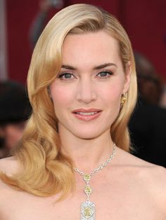 kate winslet, 40's pin up, coiffed, wave