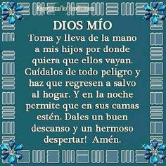 Oración  por los  hijos  Amén