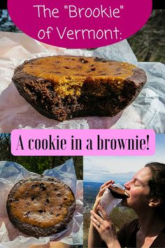 Looking for a delicious recipe idea or dessert during travel in Vermont? Meet the Brookie: a cookie baked into a brownie!