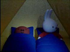 Nijntje - 36 - Nijntje en Knorretje slapen in een tent
