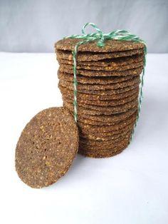 Vegan Homemade Crackers - From Lentils!